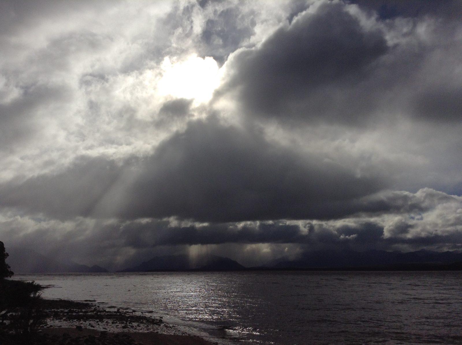 Moody skies over Lake Te Anau 2